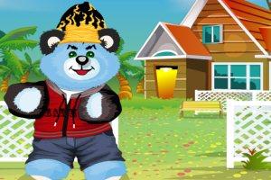 泰迪熊的装扮