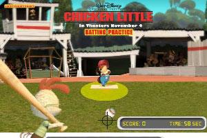 小鸡崽打棒球