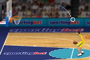 欧洲篮球投篮大赛