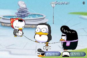 企鹅跳绳赛