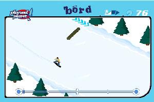 高山滑雪特技