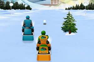 动力雪橇赛