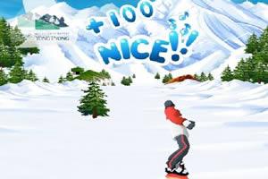 雪山滑雪赛