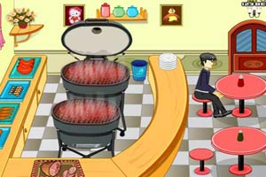 开家烧烤餐厅