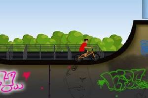 特技自行车表演