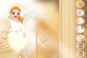 甜美彩衣天使装