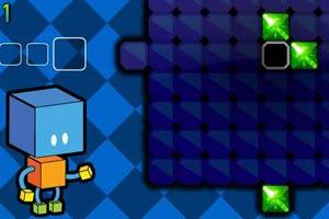 五彩立体方块