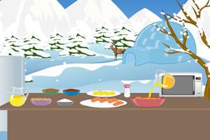 极地寿司制作