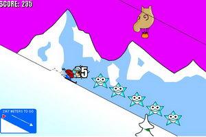 疯狂小子滑雪