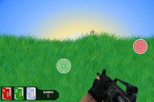 红绿蓝瞄靶射击