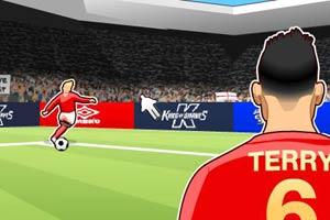 世界杯头球射门