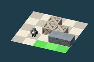 3D工人推箱子