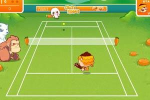 森林网球比赛