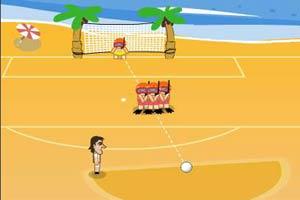 沙滩休闲足球