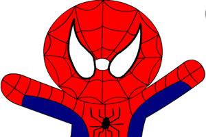 蜘蛛侠填色