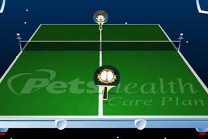 卡通动物乒乓赛