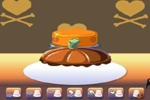 万圣节蛋糕