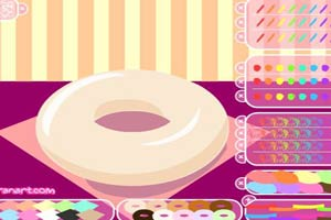 甜甜彩糖圈