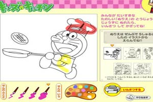 哆啦A梦厨师画