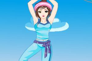 时尚瑜伽女孩