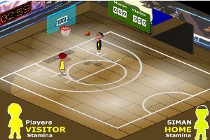篮球一对一