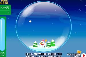 圣诞水晶摇摇球
