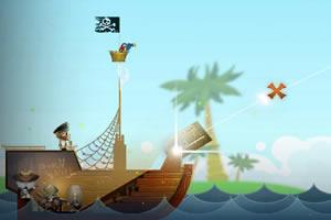 海盗大炮击目标