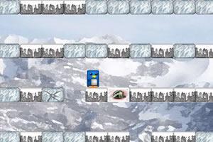 企鹅登冰山
