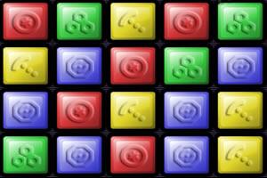 颜色方块对对碰