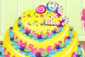 美味水果大蛋糕