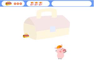 小猪接宝箱