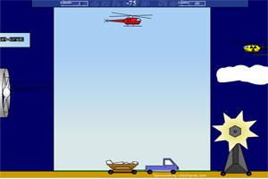 直升机空降人