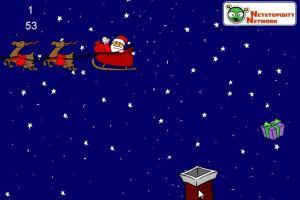 烟囱接圣诞礼物
