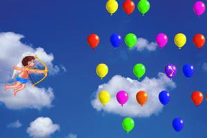 天使射气球