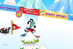 史努比滑雪