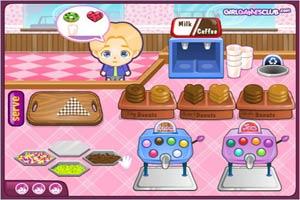约翰尼甜甜圈店