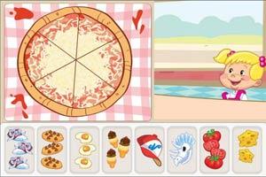 比萨快餐店