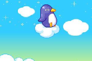 企鹅做冰雪甜点2