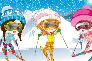 美丽心情-我们去滑雪