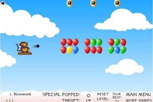 小猴子戳气球3