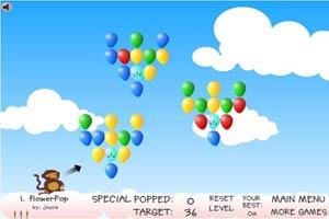 小猴子戳气球2