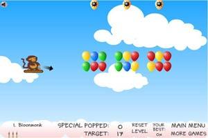 小猴子戳气球5