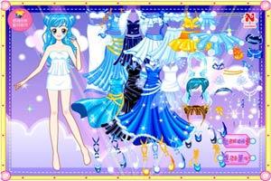 宝石蓝小公主