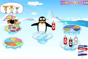 企鹅做冰淇淋