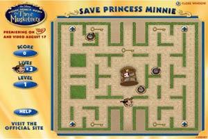 米老鼠救公主