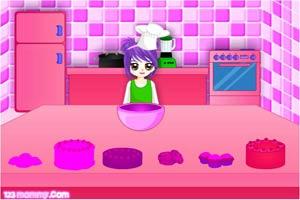 烹饪妈妈做蛋糕