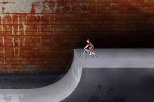自行车坡道特技2