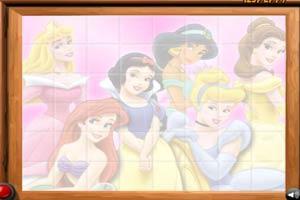 迪斯尼公主拼图