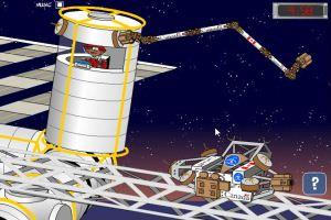太空机器手投篮