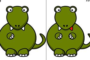 巨型恐龙找茬